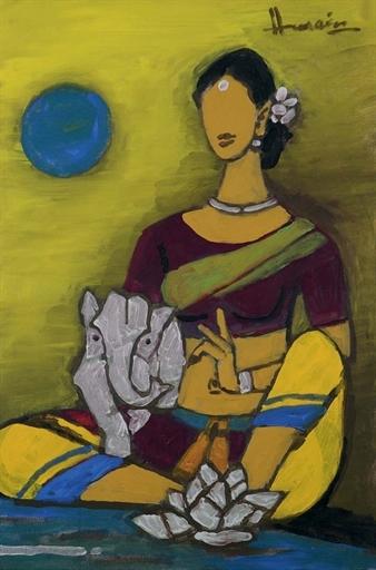 Parvati with Ganesh, 2001