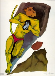 Hanuman as Superman